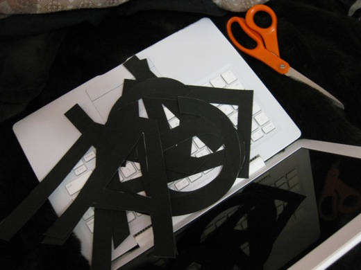 cut out letters