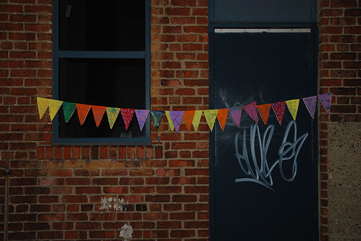 alley bunting