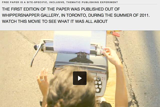 freepaperscreenshot