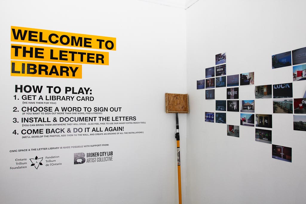 Recap of the Letter Library Opening Event!