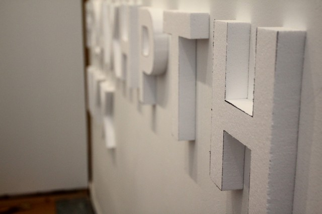 Styrofoam letters, <b>NAPROSYN dangers</b>, white walls, night time guerilla art (8)