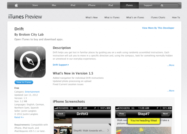 Drift v1.5 is available now on the iOS App Store