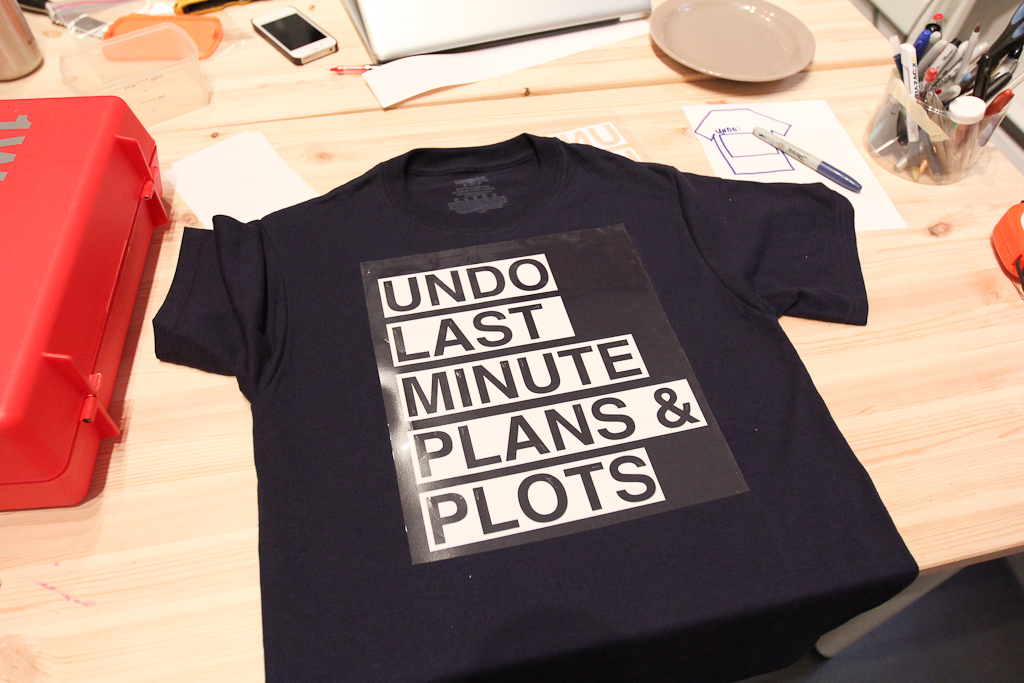 Civic Space Studio Digest for December 13: on t-shirts and white walls