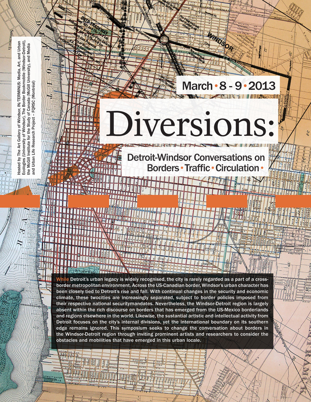 Diversions: Detroit-Windsor Conversations on Borders, Traffic and Circulation