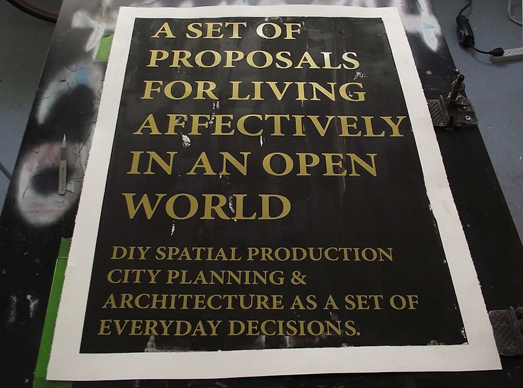 In Progress: A Set of Proposals for Living Affectively in an Open World