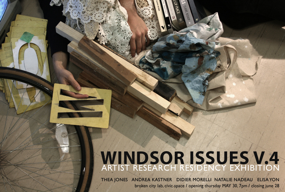Windsor Issues V.4: An Exhibition by UWindsor Emerging Artist Research Residency Members