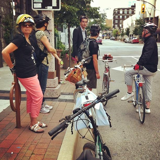 Last night's #slowdownthecity group ride was a blast! #brokencitylab