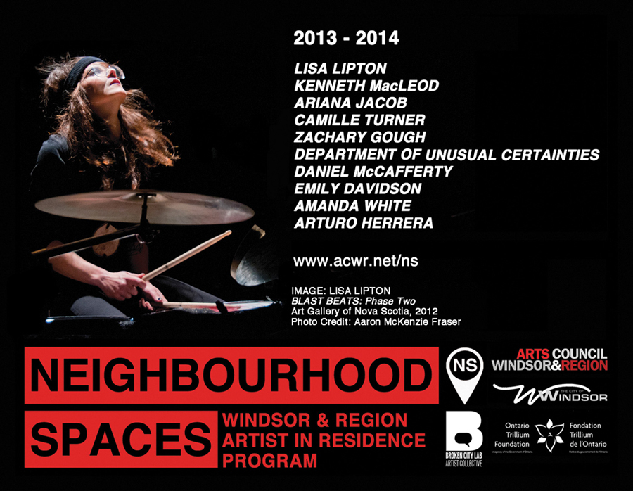 Meet, Greet, & Eat with Local and Visiting Neighbourhood Spaces (NS) Artists-in-Residence