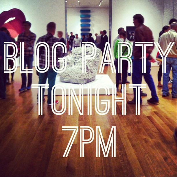 Blog party is tonight! Come to 411 Pelissier and get schooled by me and @joshuababcock. Today we're taking pictures so bring your camera! #brokencitylab