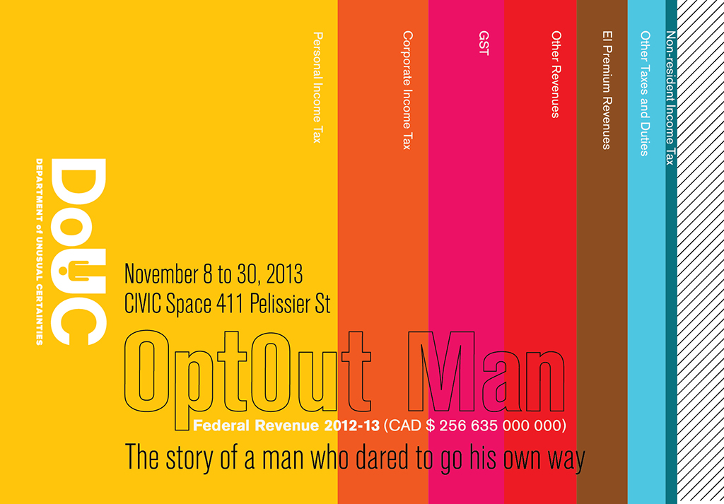 Opt0ut Man: A Department of Unusual Certainties Project