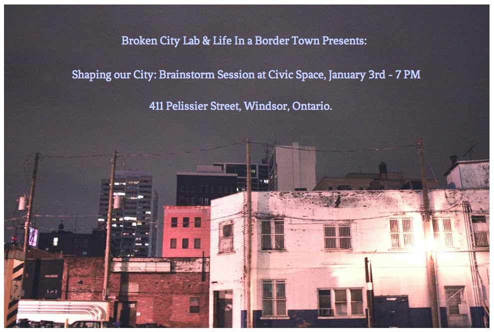 Shaping our City: Brainstorming Session at Civic Space Tomorrow!
